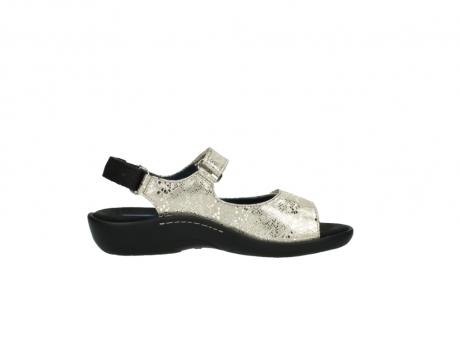 wolky sandalen 1300 salvia 614 goud slangenprint metallic leer_13