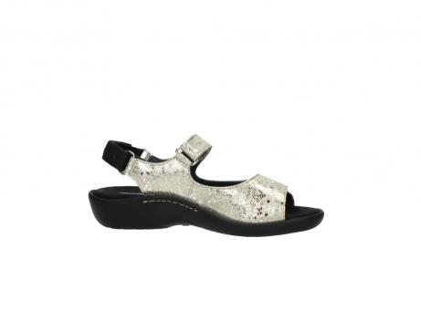 wolky sandalen 1300 salvia 614 goud slangenprint metallic leer_14