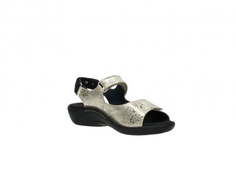 wolky sandalen 1300 salvia 614 goud slangenprint metallic leer_16