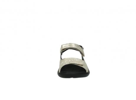 wolky sandalen 1300 salvia 614 goud slangenprint metallic leer_19