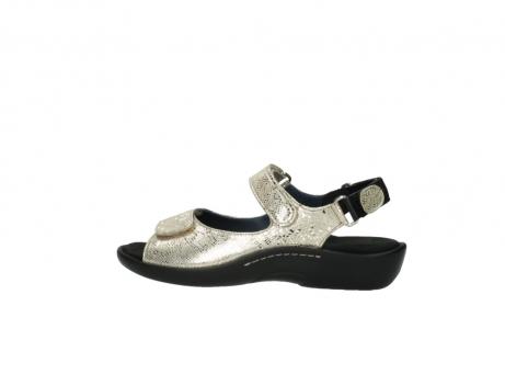 wolky sandalen 1300 salvia 614 goud slangenprint metallic leer_2