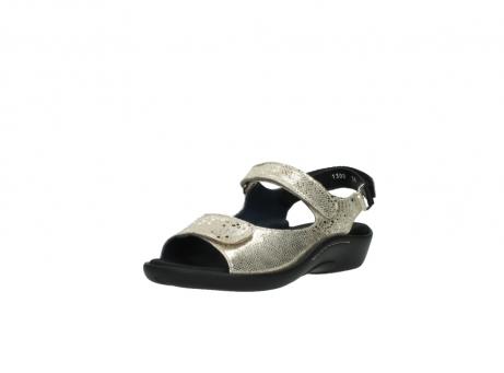 wolky sandalen 1300 salvia 614 goud slangenprint metallic leer_22