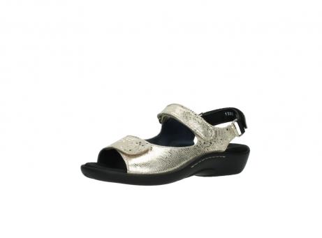 wolky sandalen 1300 salvia 614 goud slangenprint metallic leer_23