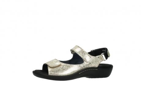 wolky sandalen 1300 salvia 614 goud slangenprint metallic leer_24