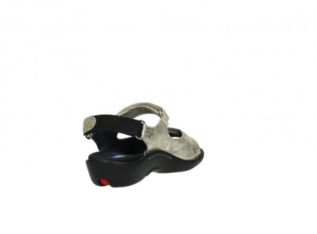 wolky sandalen 1300 salvia 614 goud slangenprint metallic leer_9