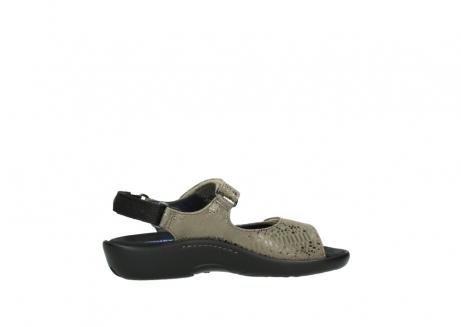 wolky sandalen 1300 salvia 615 taupe slangenprint metallic leer_12