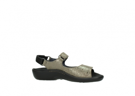 wolky sandalen 1300 salvia 615 taupe slangenprint metallic leer_14