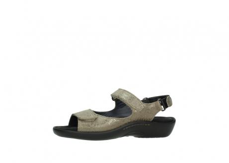 wolky sandalen 1300 salvia 615 taupe slangenprint metallic leer_24