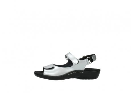 wolky sandalen 1300 salvia 820 grijs metallic lakleer_1