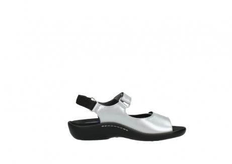 wolky sandalen 1300 salvia 820 grijs metallic lakleer_13