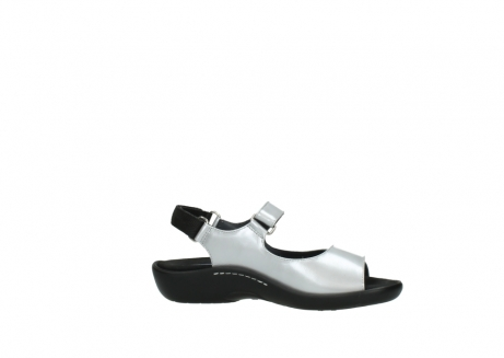 wolky sandalen 1300 salvia 820 grijs metallic lakleer_14