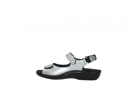 wolky sandalen 1300 salvia 820 grijs metallic lakleer_2