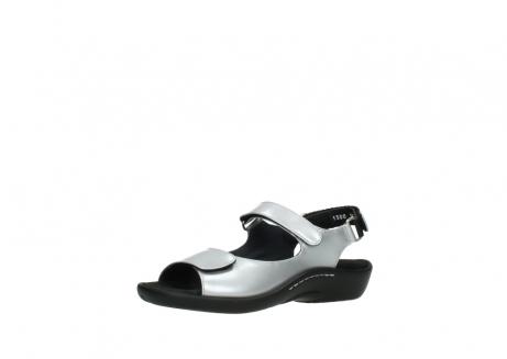 wolky sandalen 1300 salvia 820 grijs metallic lakleer_23
