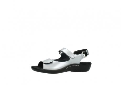 wolky sandalen 1300 salvia 820 grijs metallic lakleer_24