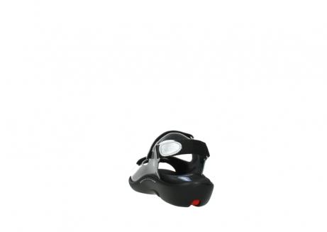 wolky sandalen 1300 salvia 820 grijs metallic lakleer_6