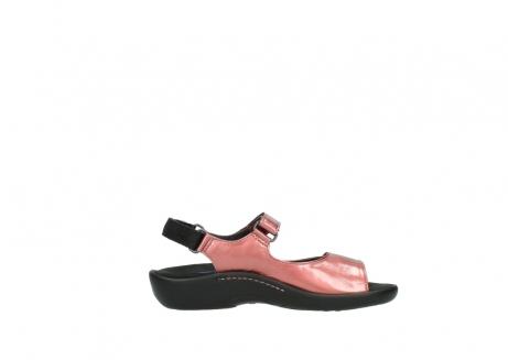 wolky sandalen 1300 salvia 853 koraal rood lakleer_13