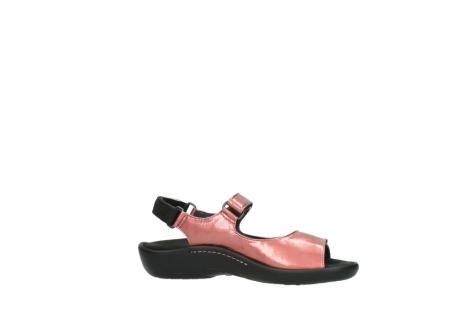 wolky sandalen 1300 salvia 853 koraal rood lakleer_14