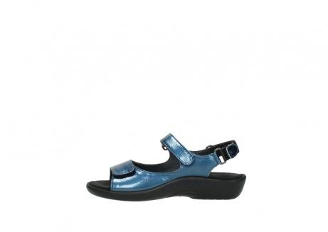 wolky sandalen 1300 salvia 882 denim metallic lakleer_1
