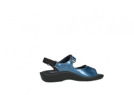wolky sandalen 1300 salvia 882 denim metallic lakleer_12