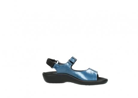 wolky sandalen 1300 salvia 882 denim metallic lakleer_14
