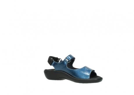 wolky sandalen 1300 salvia 882 denim metallic lakleer_15