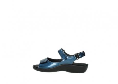 wolky sandalen 1300 salvia 882 denim metallic lakleer_2