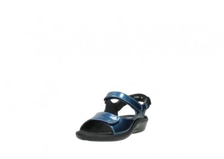 wolky sandalen 1300 salvia 882 denim metallic lakleer_21