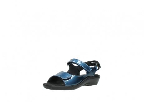 wolky sandalen 1300 salvia 882 denim metallic lakleer_22