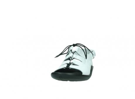 wolky sandalen 1302 ajuga 310 weiss leder_20
