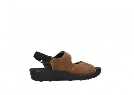 wolky sandalen 1350 lin 131 middenbruin nubuck_12