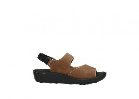 wolky sandalen 1350 lin 131 middenbruin nubuck_14
