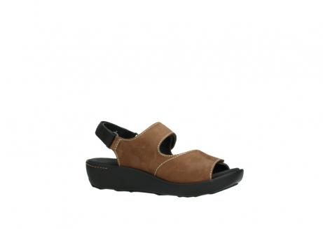 wolky sandalen 1350 lin 131 middenbruin nubuck_15