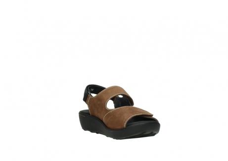 wolky sandalen 1350 lin 131 middenbruin nubuck_17