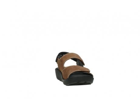 wolky sandalen 1350 lin 131 middenbruin nubuck_18