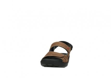 wolky sandalen 1350 lin 131 middenbruin nubuck_20
