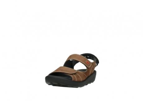 wolky sandalen 1350 lin 131 middenbruin nubuck_21