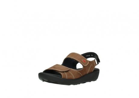 wolky sandalen 1350 lin 131 middenbruin nubuck_22