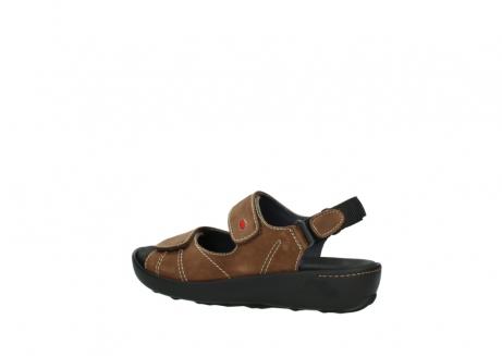 wolky sandalen 1350 lin 131 middenbruin nubuck_3