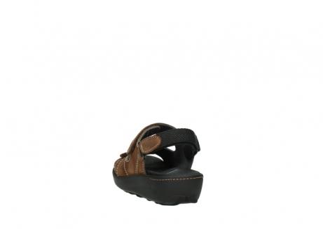 wolky sandalen 1350 lin 131 middenbruin nubuck_6