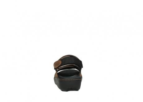 wolky sandalen 1350 lin 131 middenbruin nubuck_7