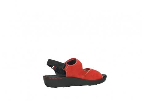 wolky sandalen 1350 lin 150 rood nubuck_11