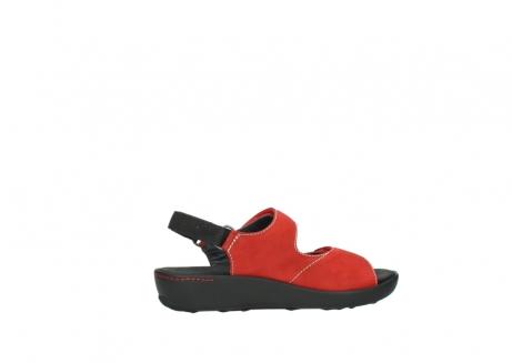 wolky sandalen 1350 lin 150 rood nubuck_12