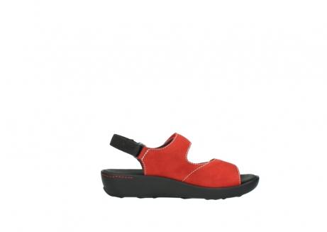wolky sandalen 1350 lin 150 rood nubuck_13