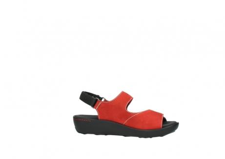 wolky sandalen 1350 lin 150 rood nubuck_14