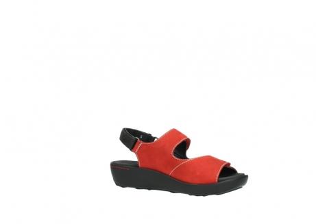 wolky sandalen 1350 lin 150 rood nubuck_15