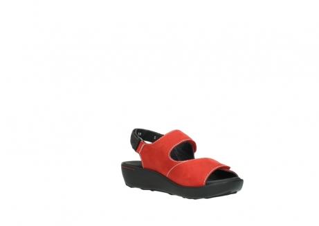 wolky sandalen 1350 lin 150 rood nubuck_16