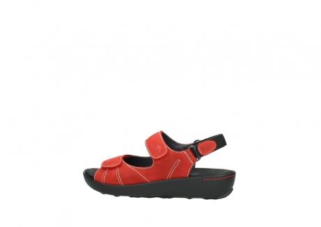 wolky sandalen 1350 lin 150 rood nubuck_2