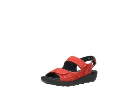 wolky sandalen 1350 lin 150 rood nubuck_22
