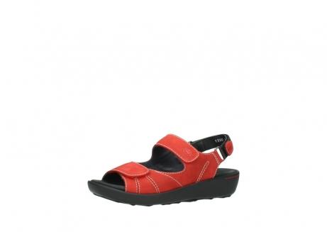 wolky sandalen 1350 lin 150 rood nubuck_23
