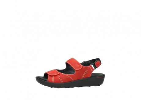 wolky sandalen 1350 lin 150 rood nubuck_24